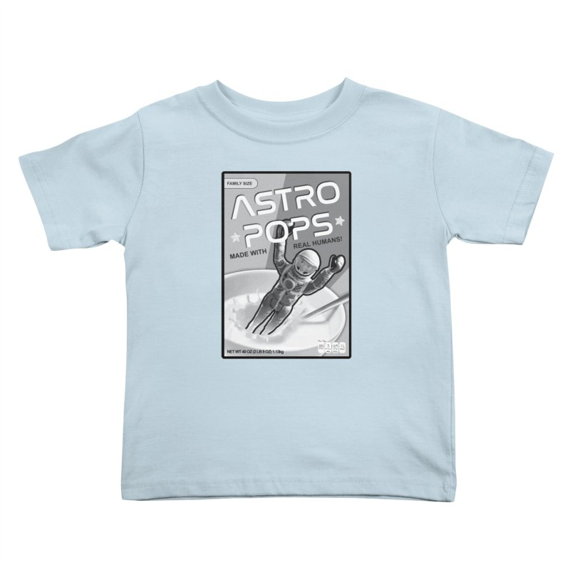 Astropops! The Breakfast Cereal of the Future! Kids Toddler T-Shirt by Photon Illustration's Artist Shop