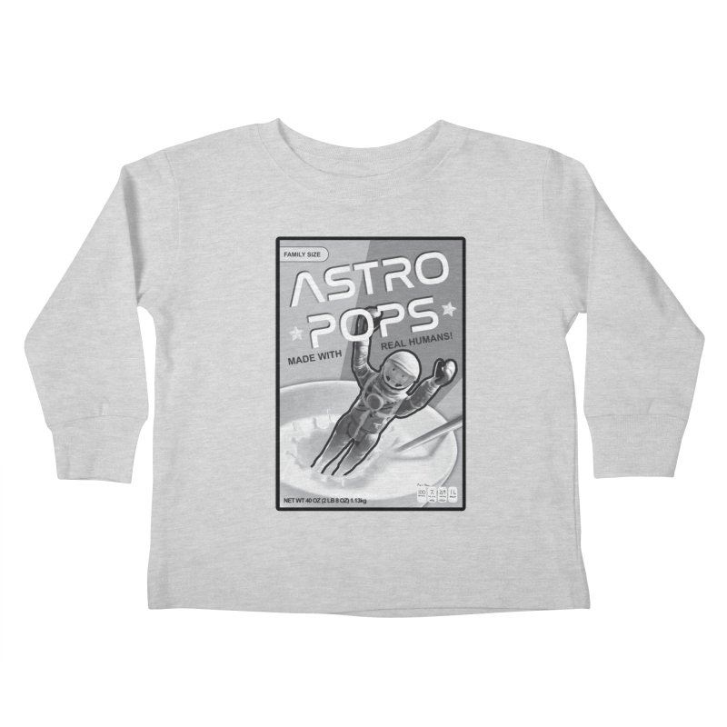 Astropops! The Breakfast Cereal of the Future! Kids Toddler Longsleeve T-Shirt by Photon Illustration's Artist Shop