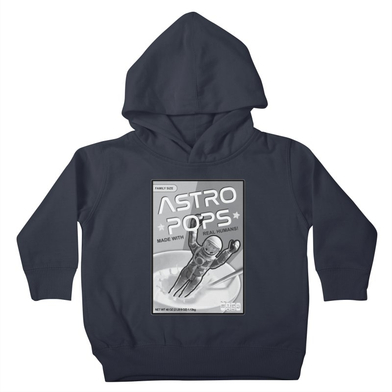 Astropops! The Breakfast Cereal of the Future! Kids Toddler Pullover Hoody by Photon Illustration's Artist Shop