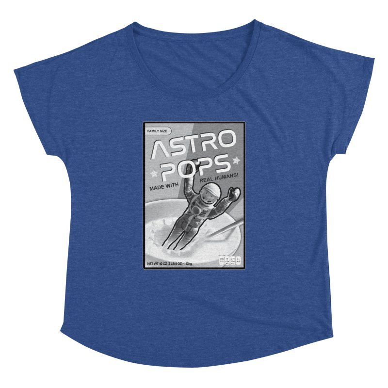 Astropops! The Breakfast Cereal of the Future! Women's Dolman Scoop Neck by Photon Illustration's Artist Shop