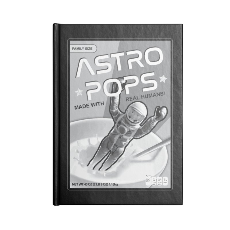 Astropops! The Breakfast Cereal of the Future! Accessories Notebook by Photon Illustration's Artist Shop