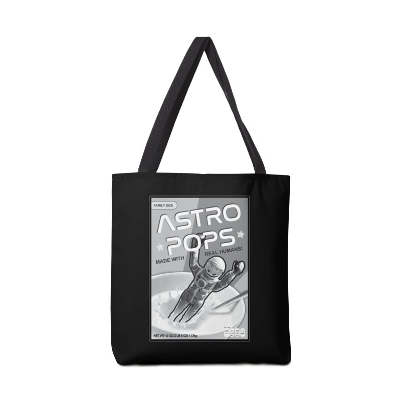 Astropops! The Breakfast Cereal of the Future! Accessories Bag by Photon Illustration's Artist Shop
