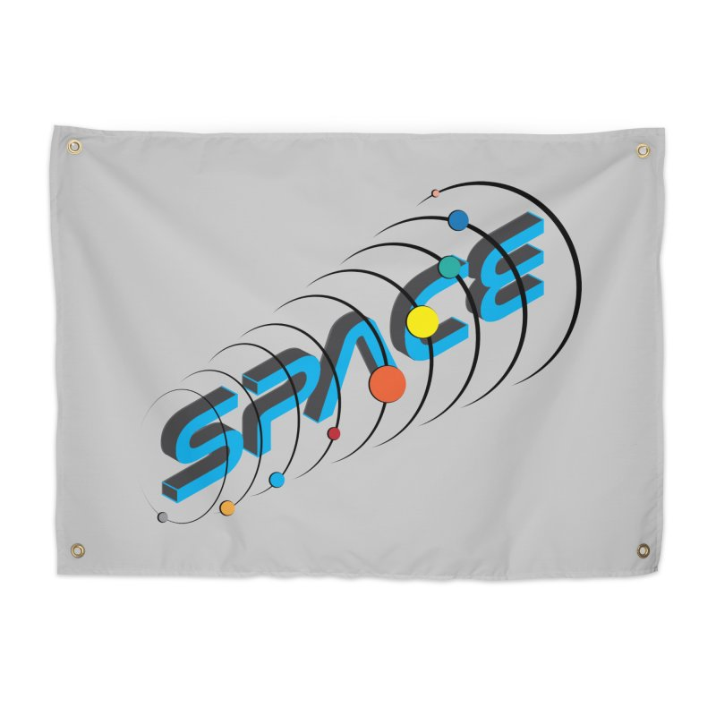 Space System Orbit Home Tapestry by Photon Illustration's Artist Shop