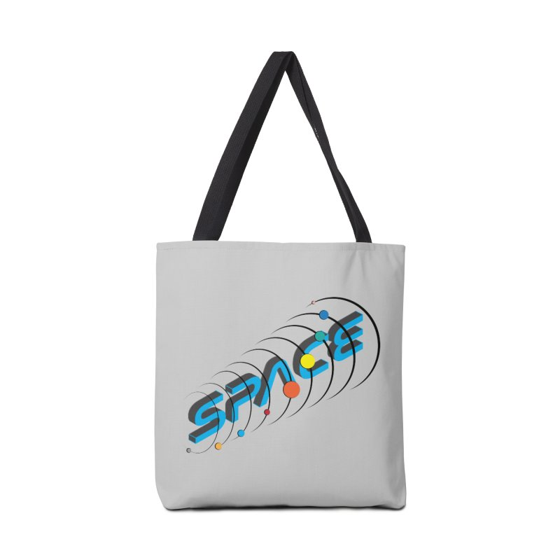 Space System Orbit Accessories Bag by Photon Illustration's Artist Shop