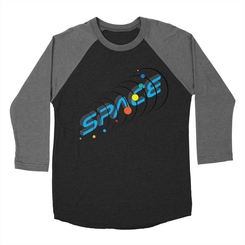 Space System Orbit Women's Baseball Triblend Longsleeve T-Shirt by Photon Illustration's Artist Shop