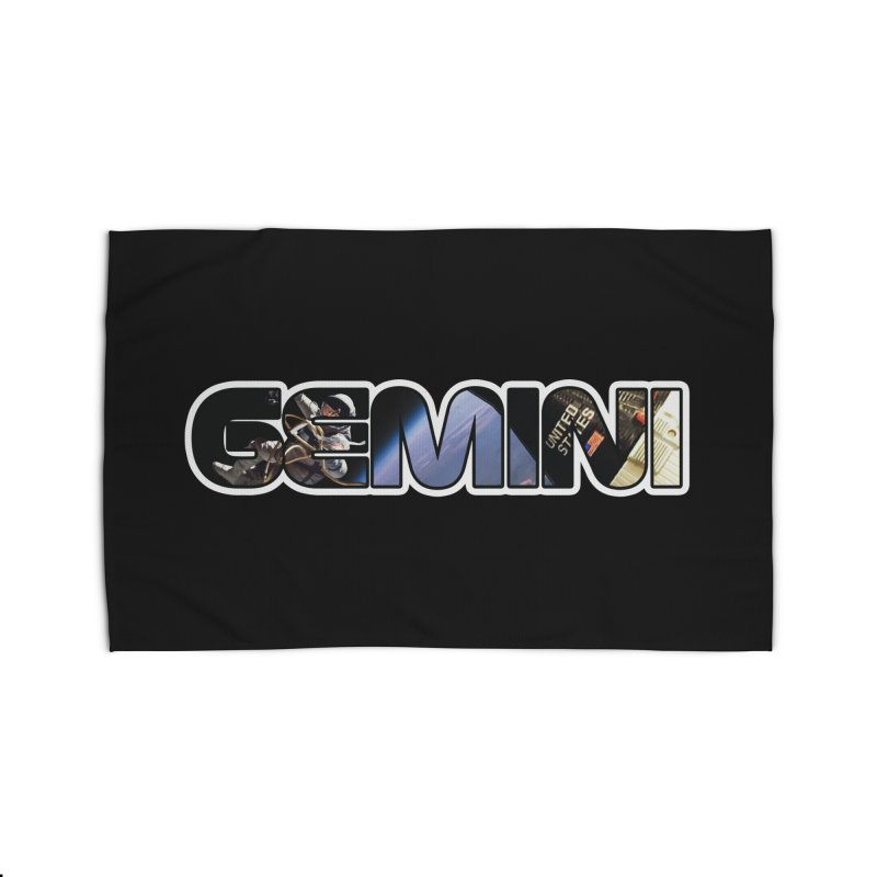 Gemini Spacewalk Home Rug by Photon Illustration's Artist Shop