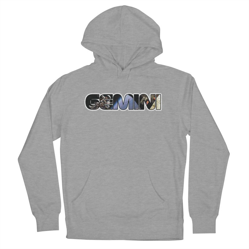 Gemini Spacewalk Men's French Terry Pullover Hoody by Photon Illustration's Artist Shop