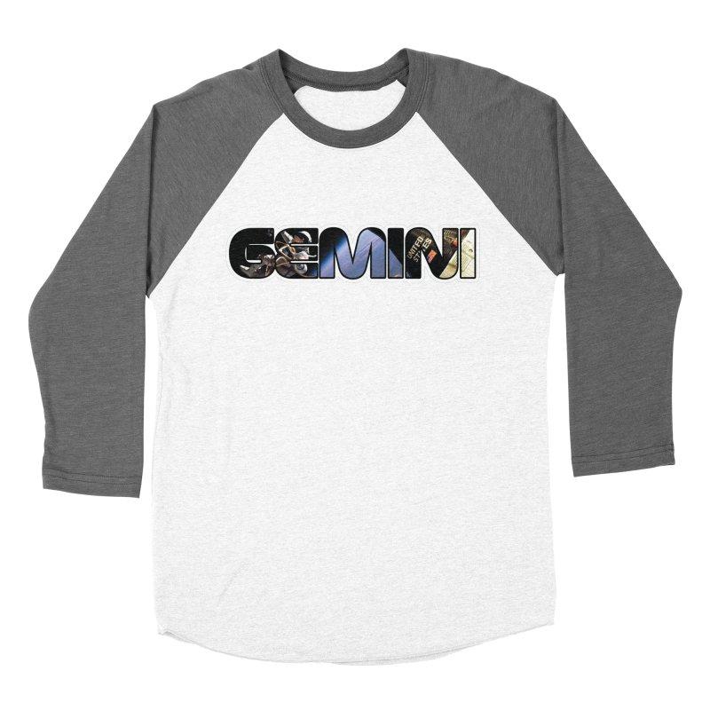 Gemini Spacewalk Women's Baseball Triblend Longsleeve T-Shirt by Photon Illustration's Artist Shop
