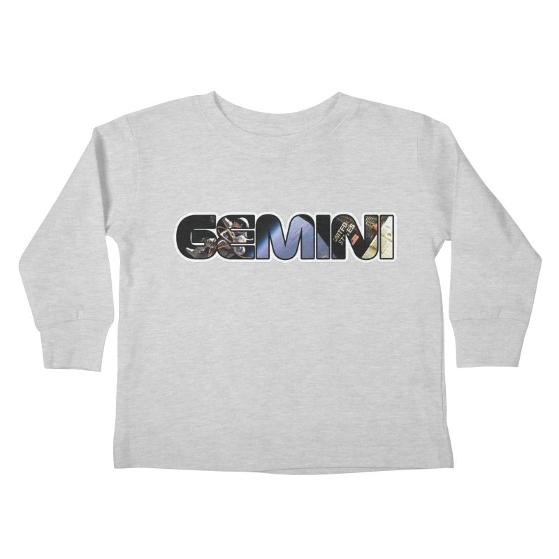 Gemini Spacewalk Kids Toddler Longsleeve T-Shirt by Photon Illustration's Artist Shop