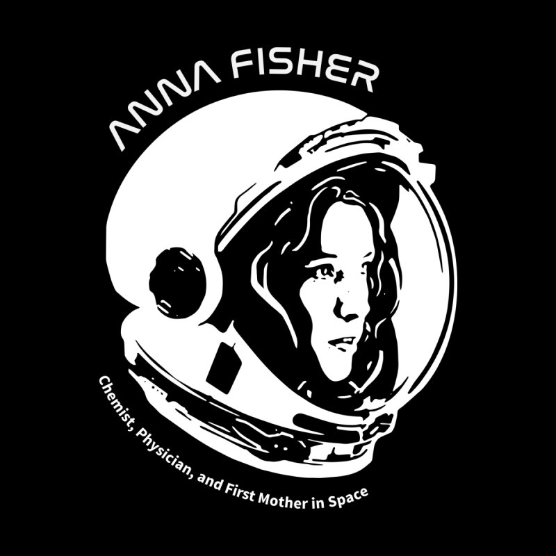 Women in Space: Anna Fisher by Photon Illustration's Artist Shop