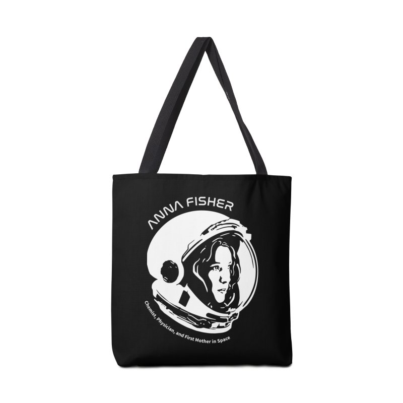 Women in Space: Anna Fisher Accessories Bag by Photon Illustration's Artist Shop