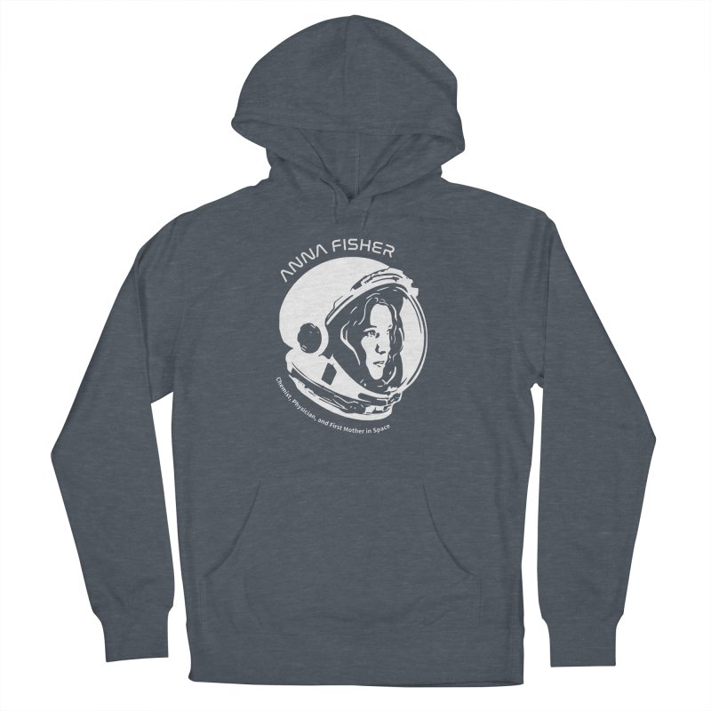 Women in Space: Anna Fisher Men's French Terry Pullover Hoody by Photon Illustration's Artist Shop
