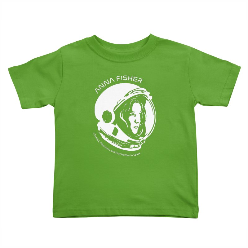 Women in Space: Anna Fisher Kids Toddler T-Shirt by Photon Illustration's Artist Shop
