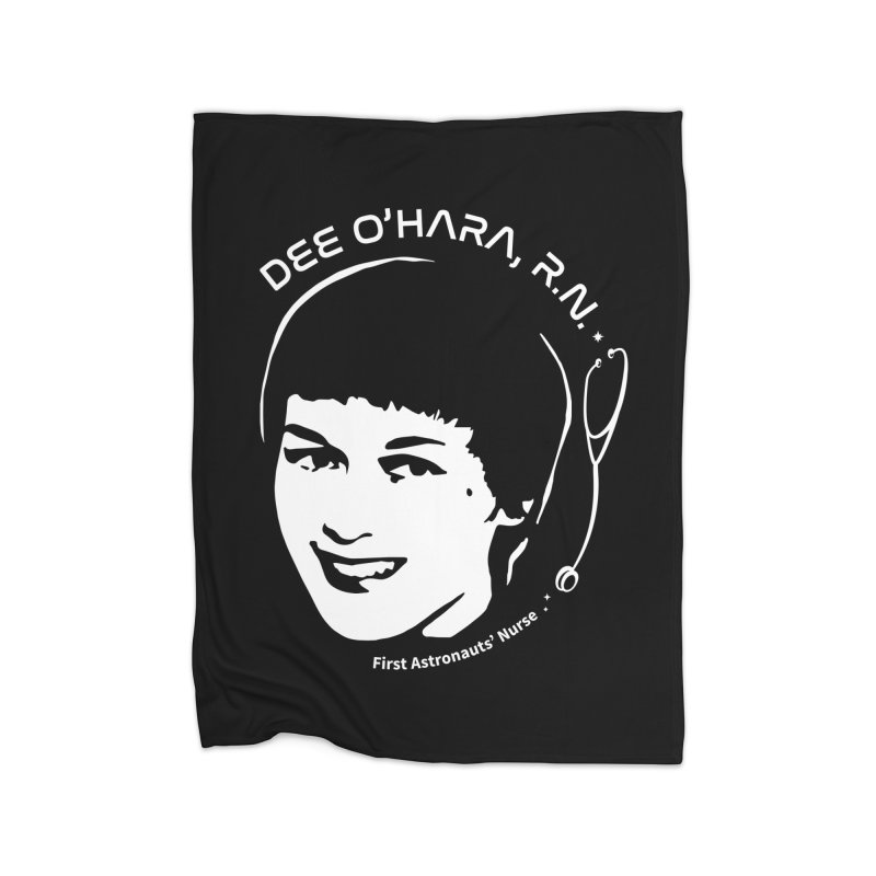 Women in Space: Dee O'Hara Home Blanket by Photon Illustration's Artist Shop