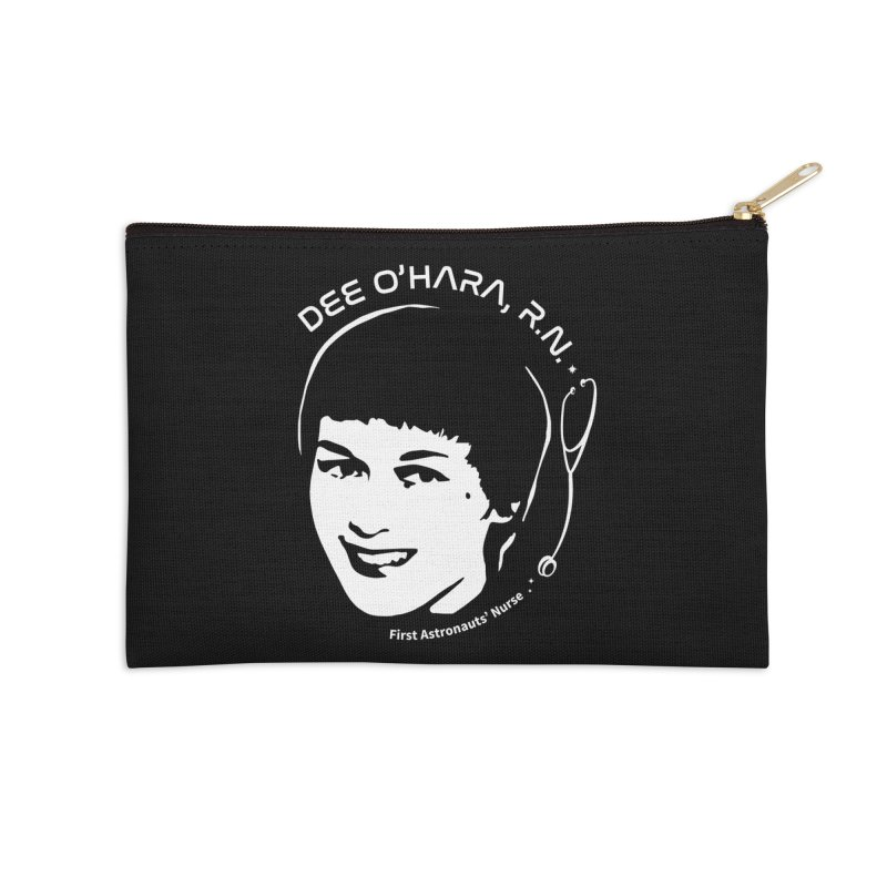 Women in Space: Dee O'Hara Accessories Zip Pouch by Photon Illustration's Artist Shop
