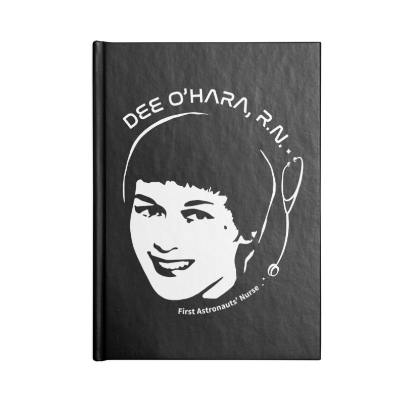 Women in Space: Dee O'Hara Accessories Notebook by Photon Illustration's Artist Shop