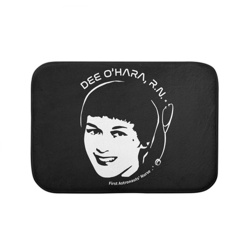 Women in Space: Dee O'Hara Home Bath Mat by Photon Illustration's Artist Shop