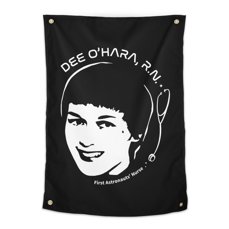 Women in Space: Dee O'Hara Home Tapestry by Photon Illustration's Artist Shop