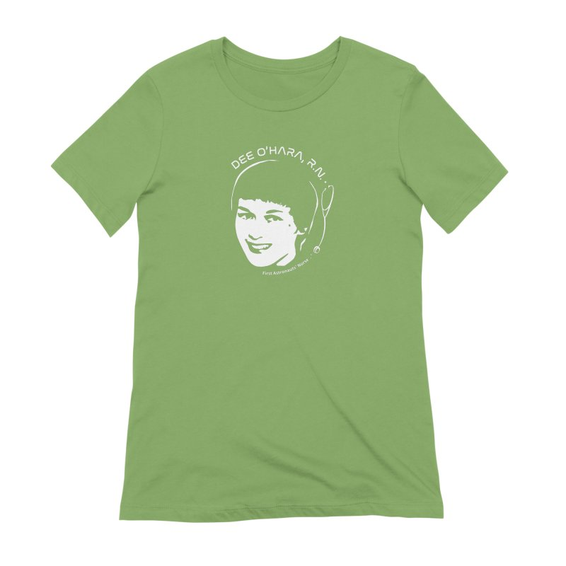Women in Space: Dee O'Hara Women's Extra Soft T-Shirt by Photon Illustration's Artist Shop