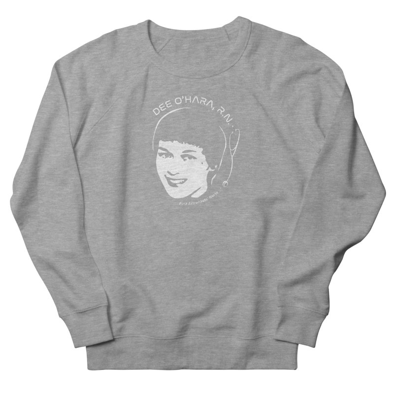 Women in Space: Dee O'Hara Men's French Terry Sweatshirt by Photon Illustration's Artist Shop