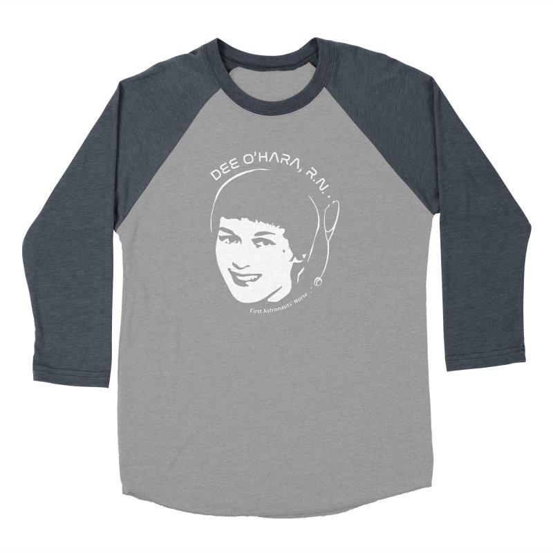 Women in Space: Dee O'Hara Men's Baseball Triblend Longsleeve T-Shirt by Photon Illustration's Artist Shop