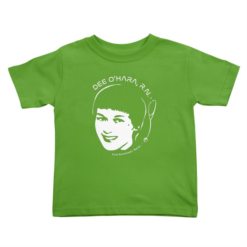 Women in Space: Dee O'Hara Kids Toddler T-Shirt by Photon Illustration's Artist Shop
