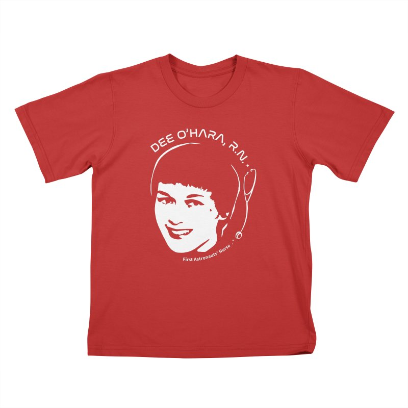 Women in Space: Dee O'Hara Kids T-Shirt by Photon Illustration's Artist Shop