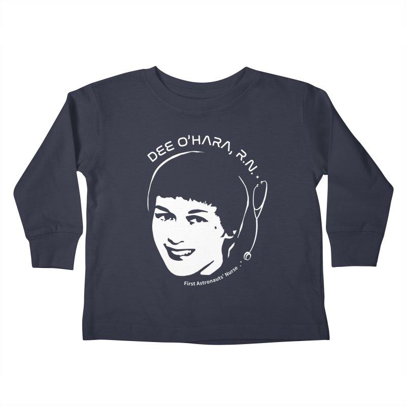 Women in Space: Dee O'Hara Kids Toddler Longsleeve T-Shirt by Photon Illustration's Artist Shop