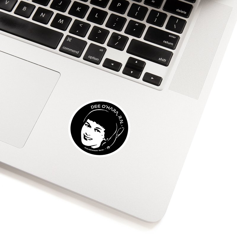 Women in Space: Dee O'Hara Accessories Sticker by Photon Illustration's Artist Shop