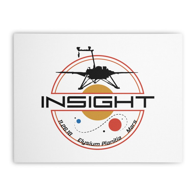 Mars InSight Home Stretched Canvas by Photon Illustration's Artist Shop