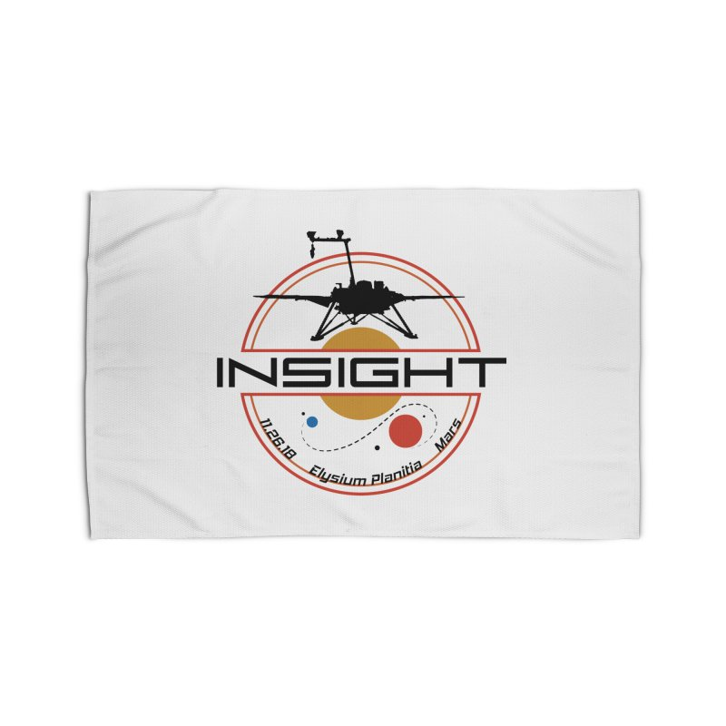 Mars InSight Home Rug by Photon Illustration's Artist Shop