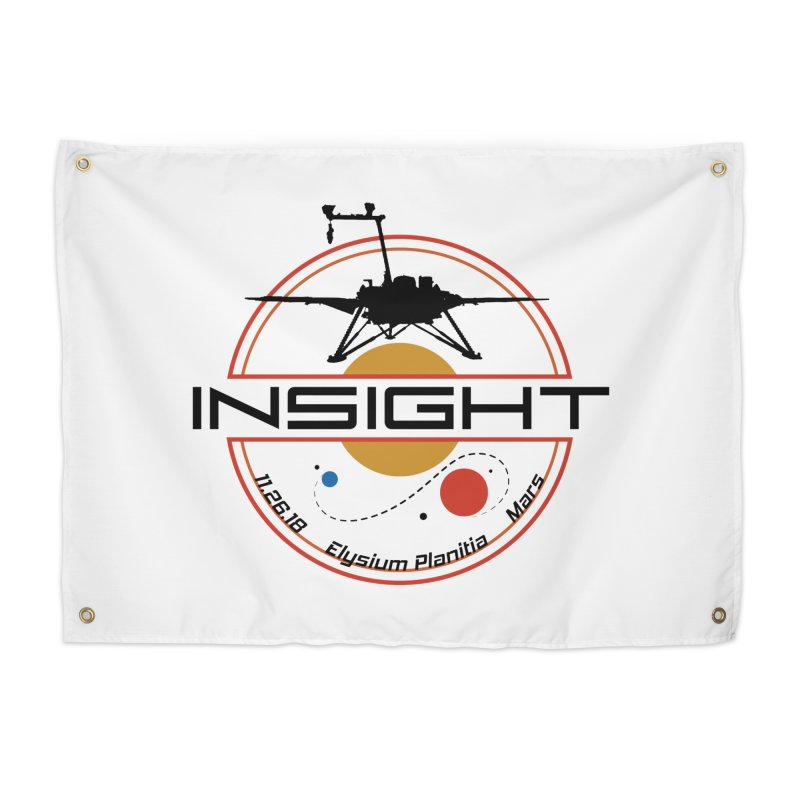 Mars InSight Home Tapestry by Photon Illustration's Artist Shop