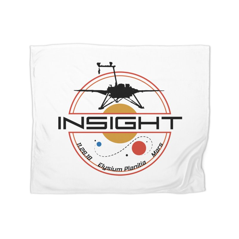 Mars InSight Home Blanket by Photon Illustration's Artist Shop