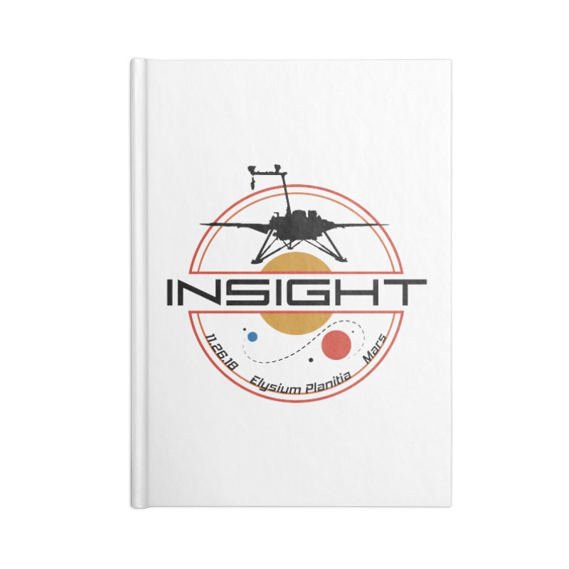 Mars InSight Accessories Notebook by Photon Illustration's Artist Shop