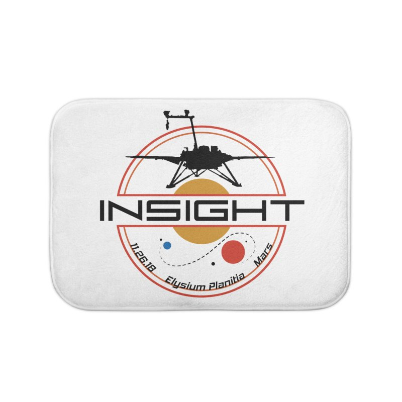 Mars InSight Home Bath Mat by Photon Illustration's Artist Shop