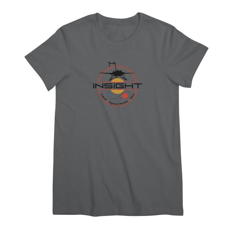 Mars InSight Women's Premium T-Shirt by Photon Illustration's Artist Shop
