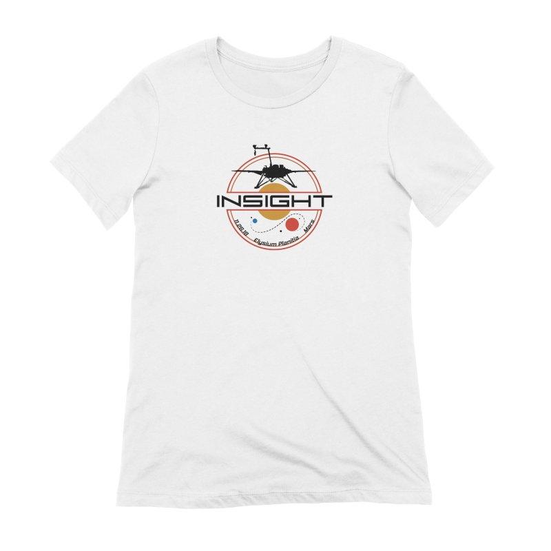 Mars InSight Women's Extra Soft T-Shirt by Photon Illustration's Artist Shop