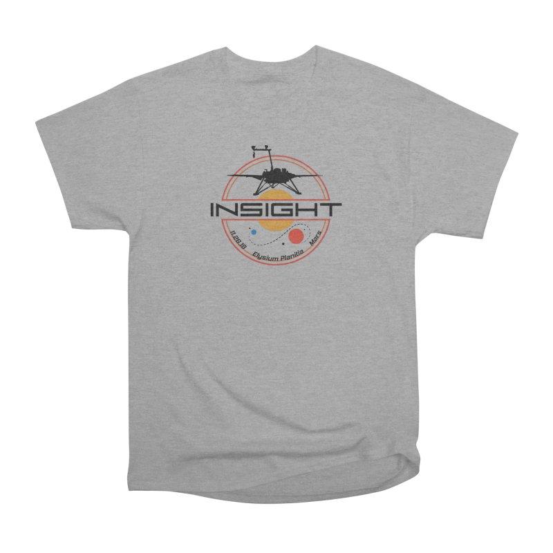 Mars InSight Men's Heavyweight T-Shirt by Photon Illustration's Artist Shop
