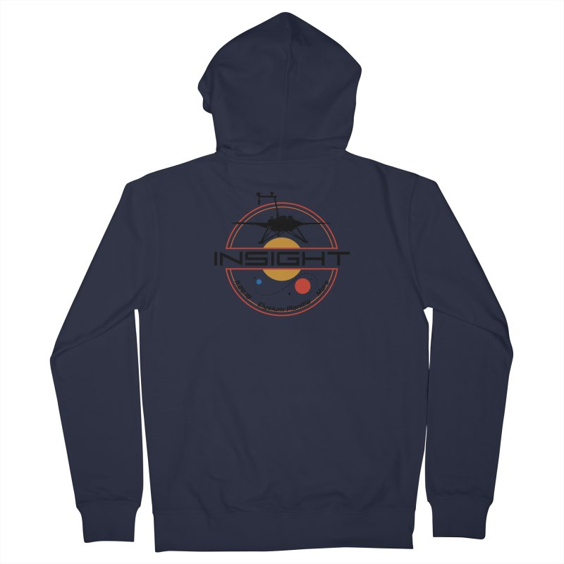 Mars InSight Women's French Terry Zip-Up Hoody by Photon Illustration's Artist Shop