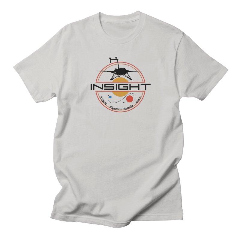 Mars InSight Women's Regular Unisex T-Shirt by Photon Illustration's Artist Shop