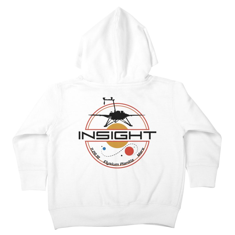 Mars InSight Kids Toddler Zip-Up Hoody by Photon Illustration's Artist Shop