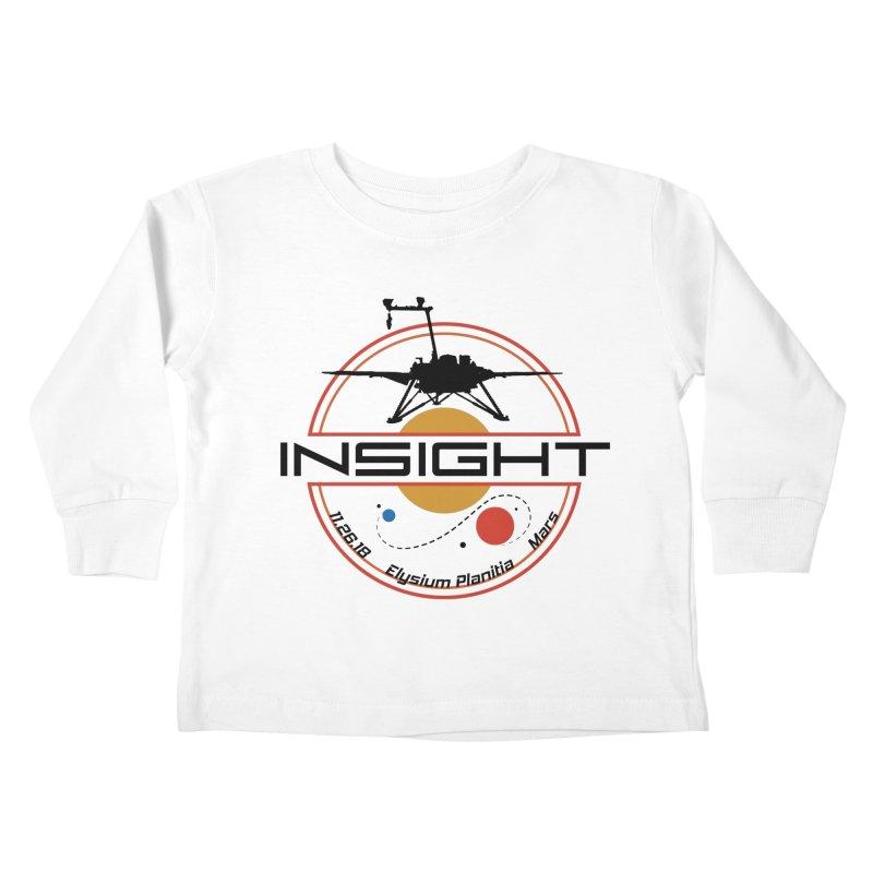 Mars InSight Kids Toddler Longsleeve T-Shirt by Photon Illustration's Artist Shop
