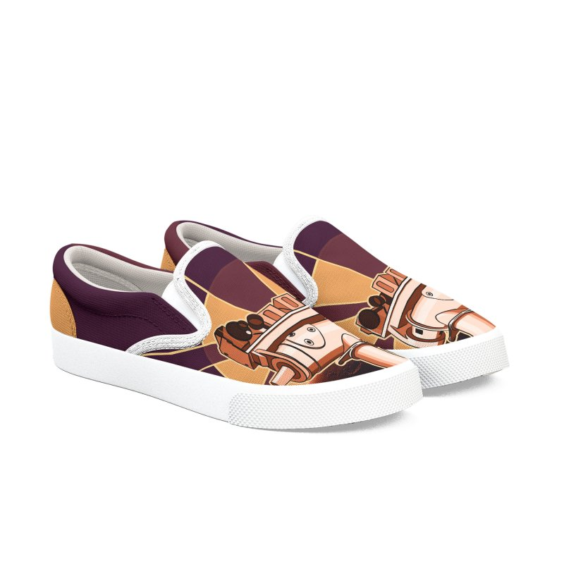 Oppy Men's Slip-On Shoes by Photon Illustration's Artist Shop