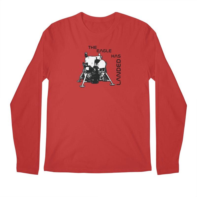 Apollo: The Eagle Has Landed Men's Regular Longsleeve T-Shirt by Photon Illustration's Artist Shop