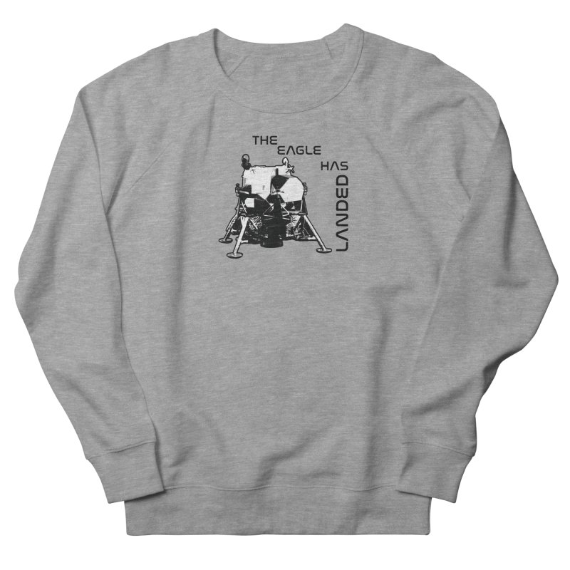 Apollo: The Eagle Has Landed Men's French Terry Sweatshirt by Photon Illustration's Artist Shop