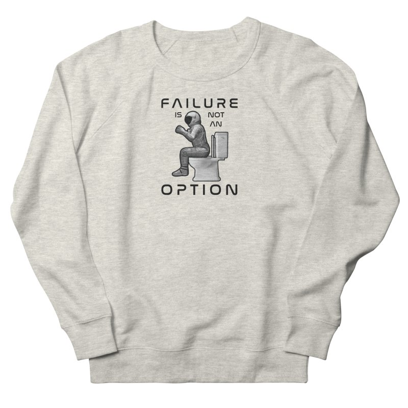 Apollo: Failure is Not an Option Men's French Terry Sweatshirt by Photon Illustration's Artist Shop