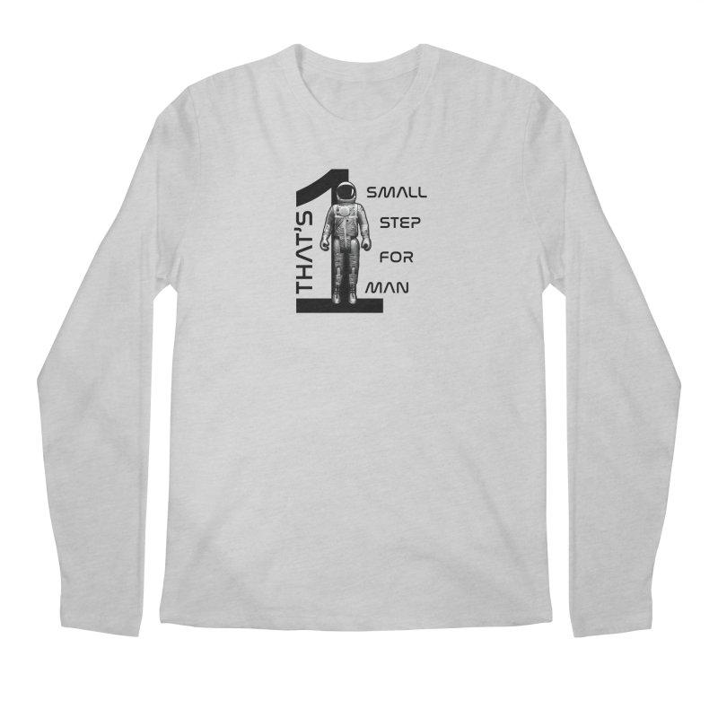 Apollo: One Small Step Men's Regular Longsleeve T-Shirt by Photon Illustration's Artist Shop