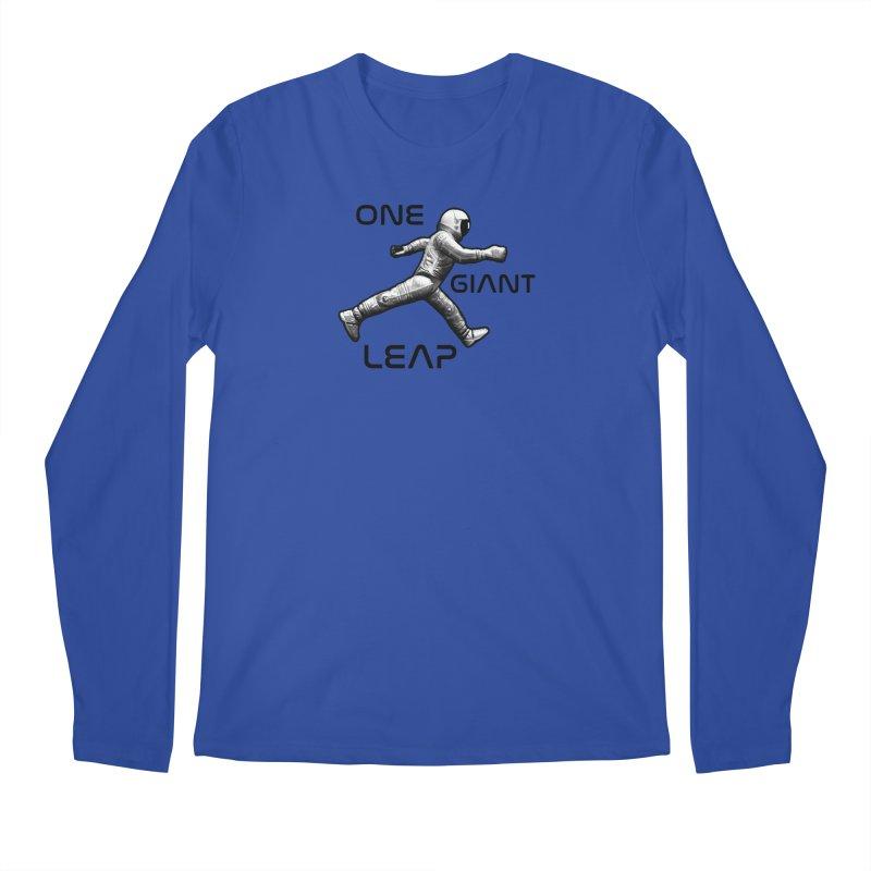 Apollo: One Giant Leap Men's Regular Longsleeve T-Shirt by Photon Illustration's Artist Shop
