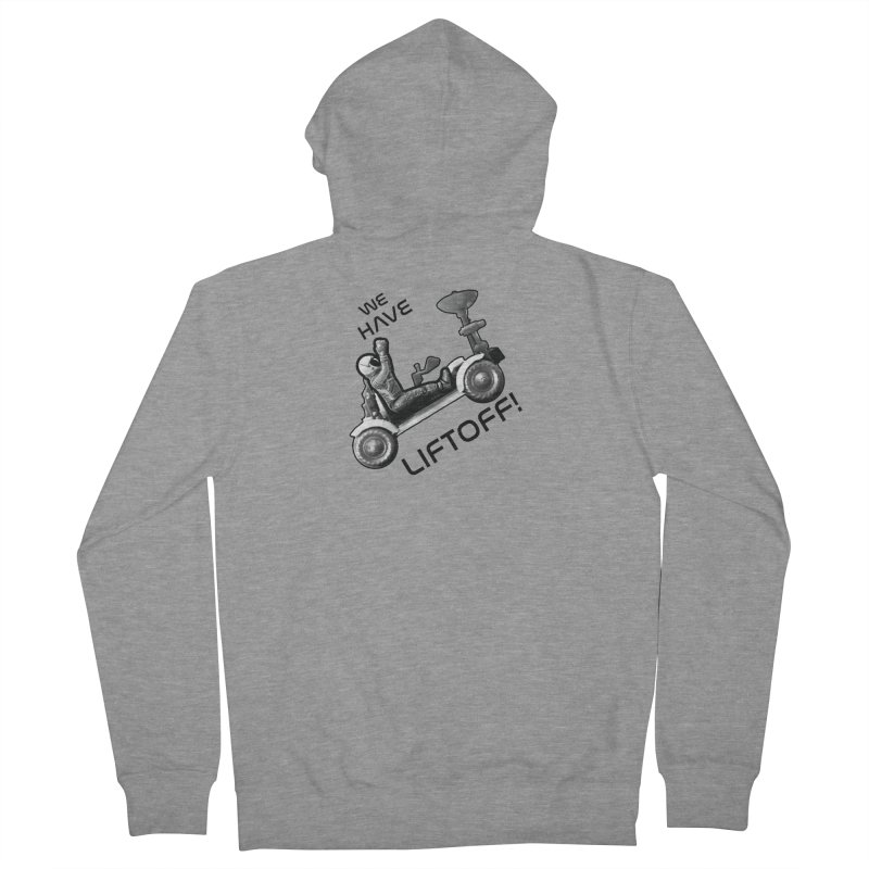 Apollo: Liftoff Men's French Terry Zip-Up Hoody by Photon Illustration's Artist Shop