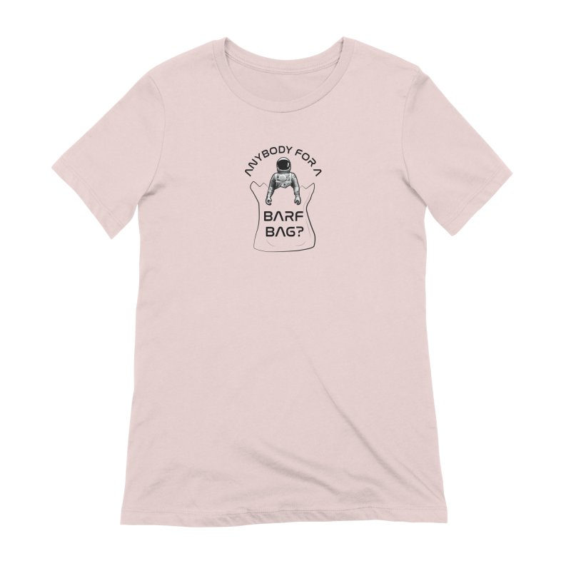 Apollo: Barf Bag Women's Extra Soft T-Shirt by Photon Illustration's Artist Shop